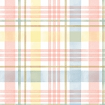 Garden Inspirations 9355 24 Multi Pastel Plaid Henry Glass
