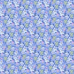 Garden Inspirations 9358 77 Blue Packed Small Flowers Henry Glass
