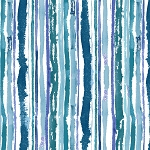 Midnight Sapphire 9381 17 Multi Watercolor Stripe Henry Glass