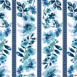 Midnight Sapphire 9388 17 White Blue Wallpaper Stripe Henry Glass