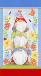 Gnome is Where Your Garden Grows 9450P 11 24 Inch Gnome Panel Henry Glass