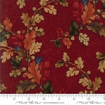 Oak Haven Leaves 9520 13 Red, Kansas Troubles by Moda