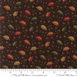 Oak Haven Mini Leaves 9522 18 Brown, Kansas Troubles by Moda