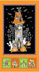 Here We Glow 9545PG 93 GITD 24 Inch Haunted House Panel Henry Glass