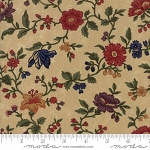 Natures Glory 9580 11 Tan Floral Reproduction, Kansas Troubles by Moda