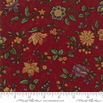 Natures Glory 9580 13 Red Floral Reproduction, Kansas Troubles by Moda