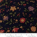 Natures Glory 9580 14 Blue Floral Reproduction, Kansas Troubles by Moda