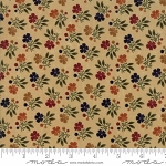 Natures Glory 9581 11 Tan Mini Floral, Kansas Troubles by Moda