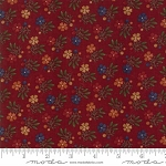 Natures Glory 9581 13 Red Mini Floral, Kansas Troubles by Moda