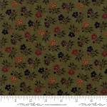 Natures Glory 9581 15 Green Mini Floral, Kansas Troubles by Moda