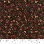Natures Glory 9581 18 Brown Mini Floral, Kansas Troubles by Moda