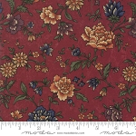 Through the Years 9620 13 Red Floral Kansas Troubles Moda