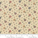 Through the Years 9622 11 Tan Mini Floral Kansas Troubles Moda
