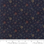 Through the Years 9622 14 Navy Mini Floral Kansas Troubles Moda
