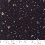 Through the Years 9622 19 Black Mini Floral Kansas Troubles Moda