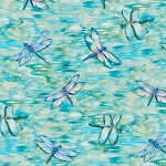 Wild Magic Wild Dragonflies 18990 286 Digital Print Robert Kaufman