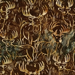 Wildlife Sanctuary 6 Batik 19093 16 Brown Deer, Robert Kaufman