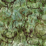 Wildlife Sanctuary 6 Batik 19093 47 Grass Deer, Robert Kaufman