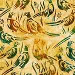 Wildlife Sanctuary 6 Batik 19094 133 Gold Pheasant, Robert Kaufman