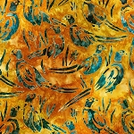 Wildlife Sanctuary 6 Batik 19094 209 Sunburst Pheasant, Robert Kaufman