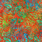 Summer Zest 19534 380 Orange Artisan Batiks Robert Kaufman