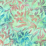 Hummingbird Lane 20183 32 Mint Artisan Batik Robert Kaufman