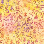 Hummingbird Lane 20184 144 Peach Artisan Batik Robert Kaufman