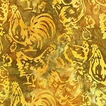 Farm Country 20323 133 Gold Artisan Batik Robert Kaufman