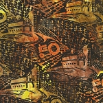 Farm Country 20319 176 Bronze Artisan Batik Robert Kaufman