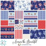 America the Beautiful Jelly Roll Strips Clothworks
