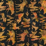 Natures Lodge Batik B7778 Nature, Timeless Treasures