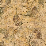 Natures Lodge Batik B7779 Oak, Timeless Treasures
