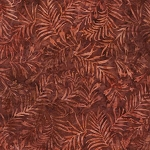 Natures Lodge Batik B7780 Rust, Timeless Treasures