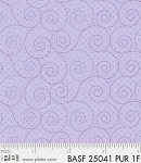 Basically Hugs Flannel 25041 Purple Scroll, P and B Textiles
