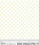 Basically Hugs Flannel 25042 Yellow Dots, P and B Textiles