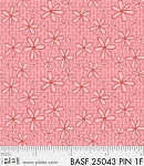 Basically Hugs Flannel 25043 Pink Daisy, P and B Textiles