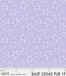 Basically Hugs Flannel 25043 Purple Daisy, P and B Textiles