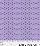 Basically Hugs Flannel 26422 Purple Hexies, P and B Textiles