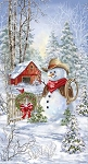 Country Snowman C7591 Multi Panel, Timeless Treasures