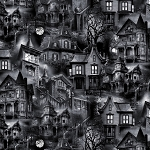 Wicked C8640 Haunted Houses Timeless Treasures