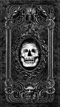 Wicked C8645 Skull Panel Timeless Treasures
