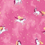 Uni the Unicorn C9980 Pink Main Unicorn Riley Blake