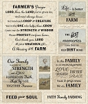 Farmers Prayer Panel CD8738 Timeless Treasures