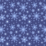 Keep Believing CE14 2 Icy Blue Dark Snowflakes Lewis and Irene