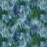 Mountain Vista Flannel CF7465 Trees, Timeless Treasures