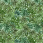 Mountain Vista Flannel CF7467 Green Pine Needles, Timeless Treasures