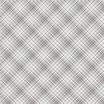 Snow is Falling Flannel CF7476 Cream Diagonal Plaid, Timeless Treasures