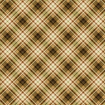 Gather Home CM7661 Brn Plaid Metallic, Timeless Treasures