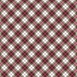 Noel CM7763 Red Holiday Plaid Metallic, Timeless Treasures