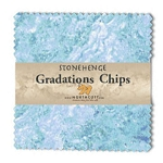 Stonehenge Gradations Chips Mystic Midnight Charm Pack, Northcott